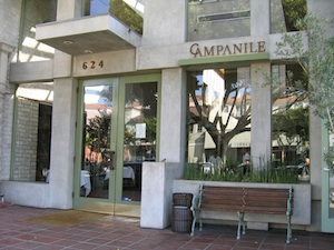 Campanile Restaurant in Los Angeles