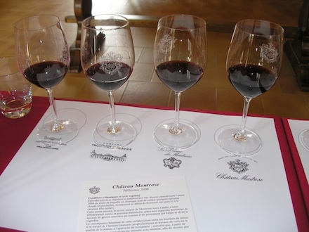 Chateau Montrose wine tasting